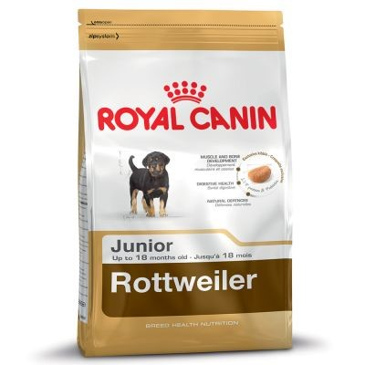 Royal Canin in our opinion the best of the rest breed specific Rottweiler