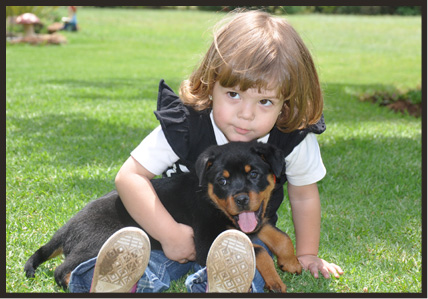 CHILDREN AND ROTTIES 3